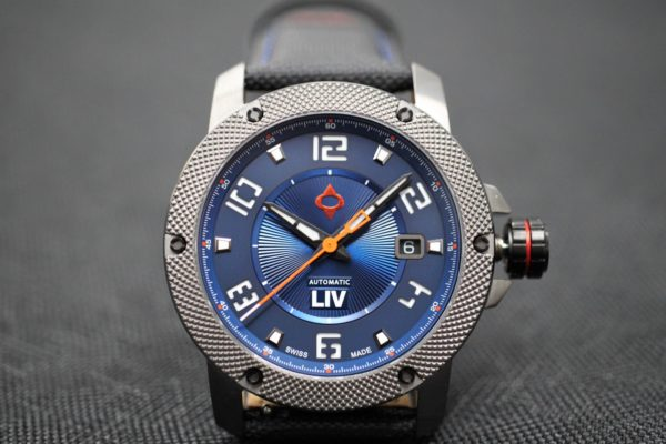 LIV Swiss Watches GX1-A Limited Edition Blue Dial