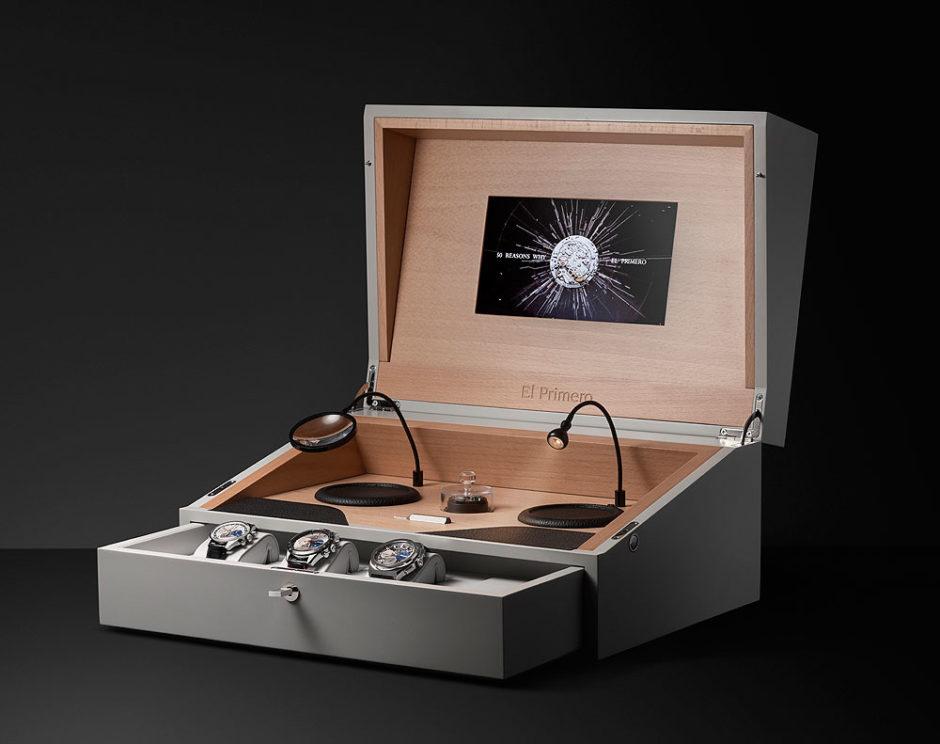 Zenith El Primero 50th Anniversary Set - open-box