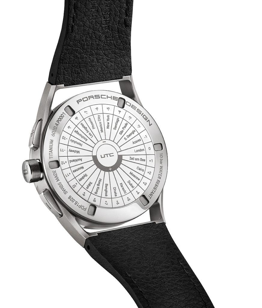 Porsche Design 1919 Globetimer UTC - All-Titanium - Black - back
