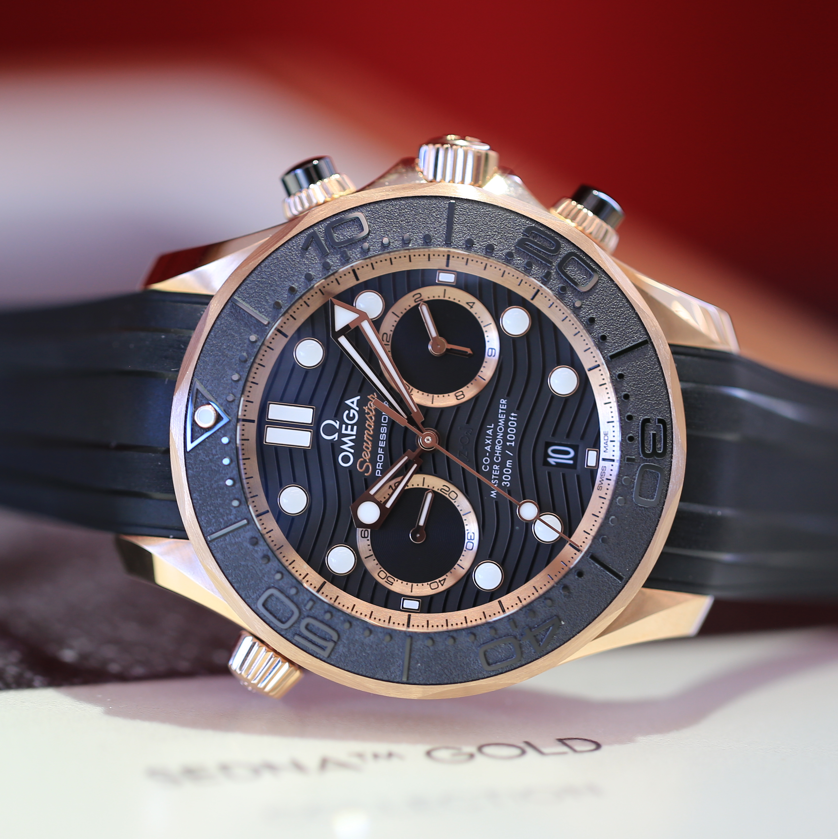 Swatch Group 2019 Release: The New Omega Seamaster Diver 300M Chronograph