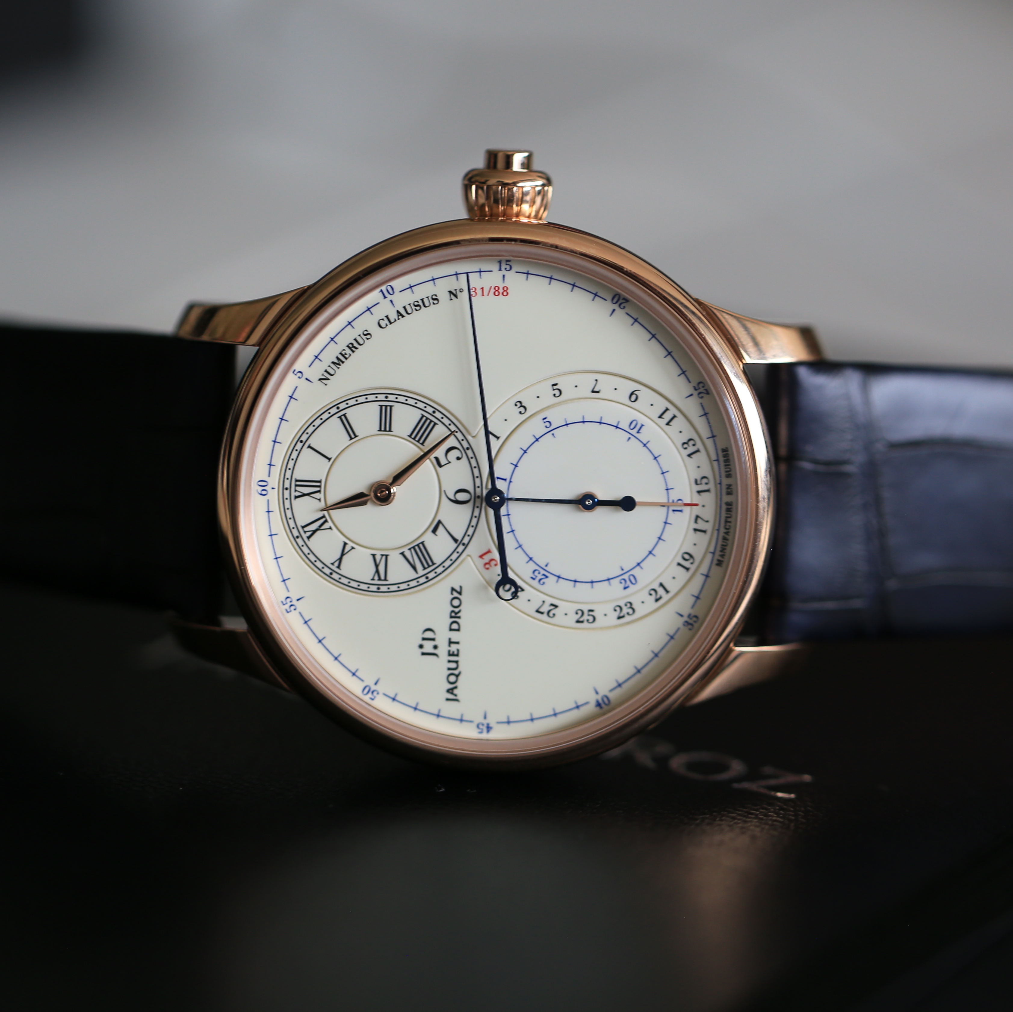 Swatch Group 2019 Release: The Jaquet Droz Grande Seconde Monopusher Chronograph
