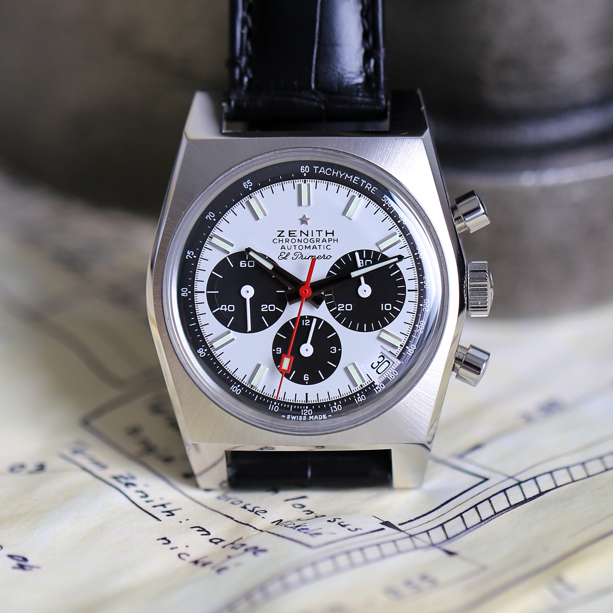 Zenith Adds the Final Piece of its 50th Anniversary Puzzle with the El Primero A384 Revival — Exclusive Live Images