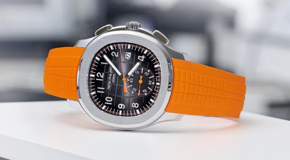Chronograph Patek Philippe Aquanaut - ngả