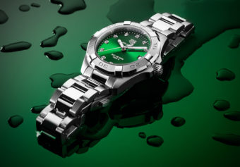 Into the Emerald Depths: TAG Heuer's New Green-Dialed