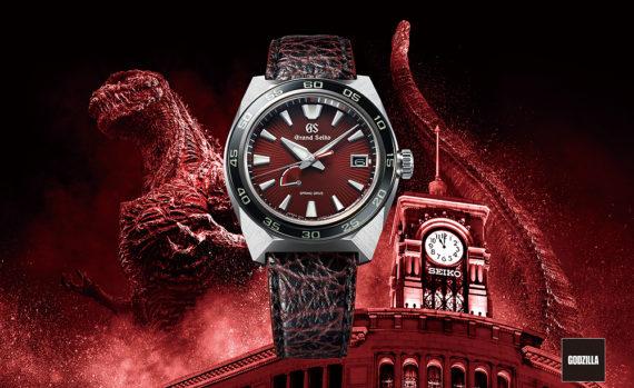Grand Seiko Godzilla 65th Anniversary - front