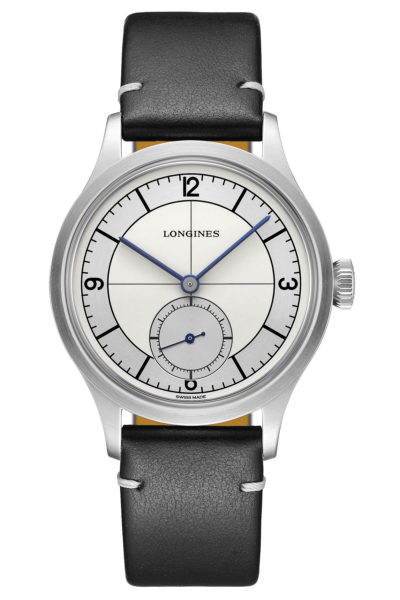 Longines Heritage Classic Sector Dial - black - front