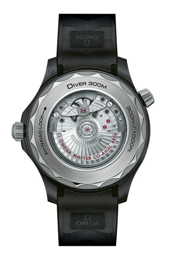 Omega Seamaster Diver 300M - caseback