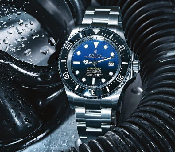 Rolex Deepsea - blue dial