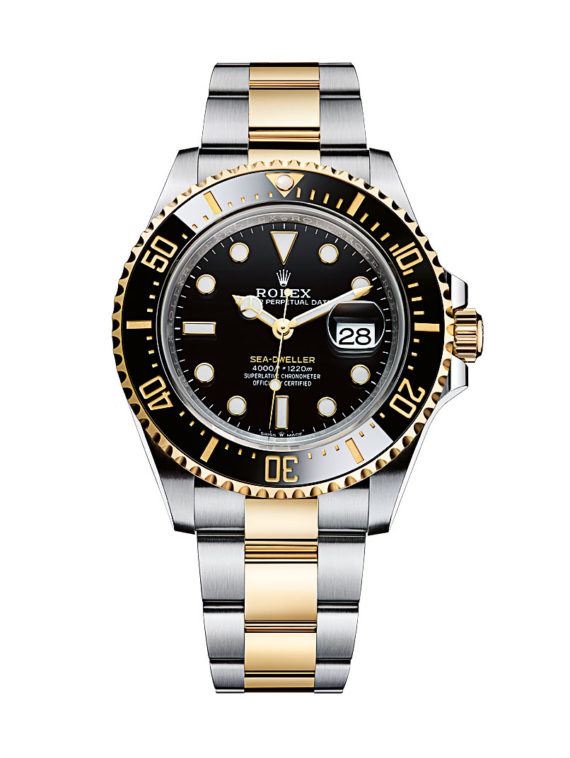 Rolex Sea-Dweller - steel-gold