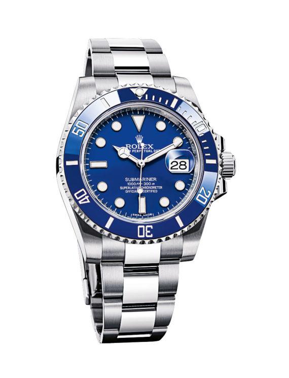 Rolex Submariner Date - blue