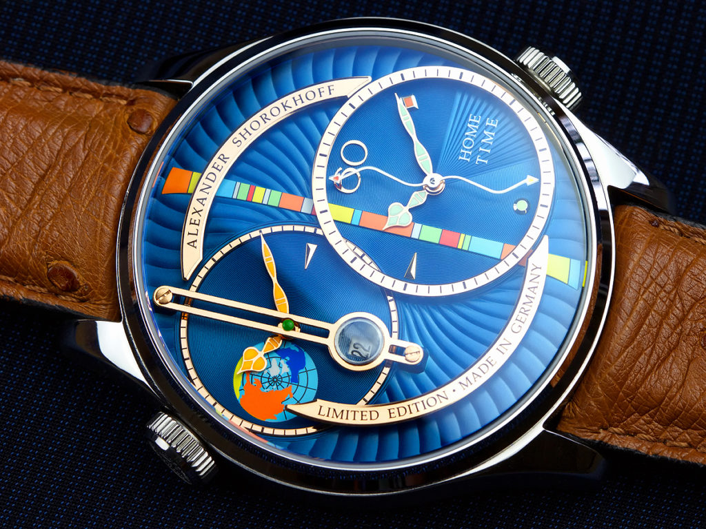 Alexander Shorokhoff Levels - blue dial CU