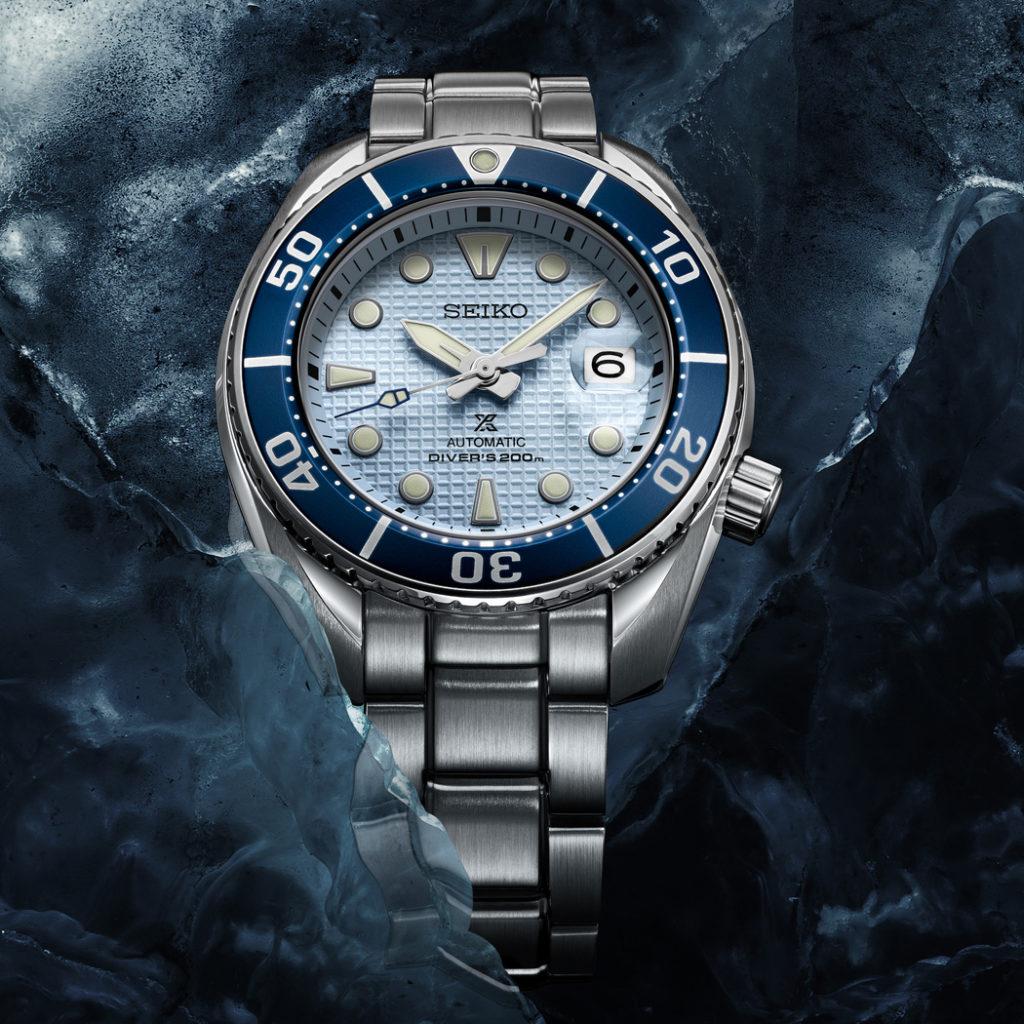 Seiko Prospex Ice Diver Blue