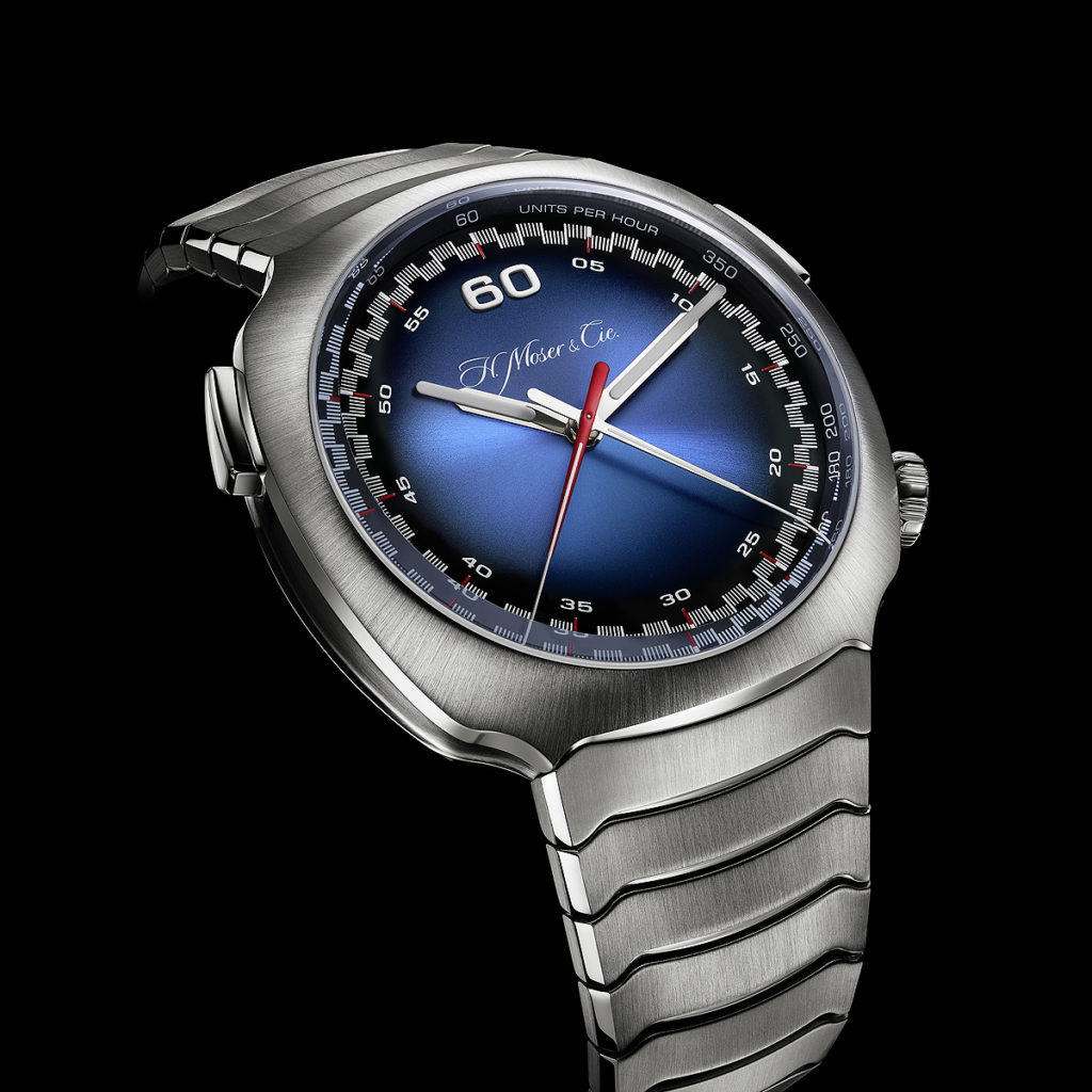 Moser Streamliner Flyback Chronograph Automatic Funky Blue
