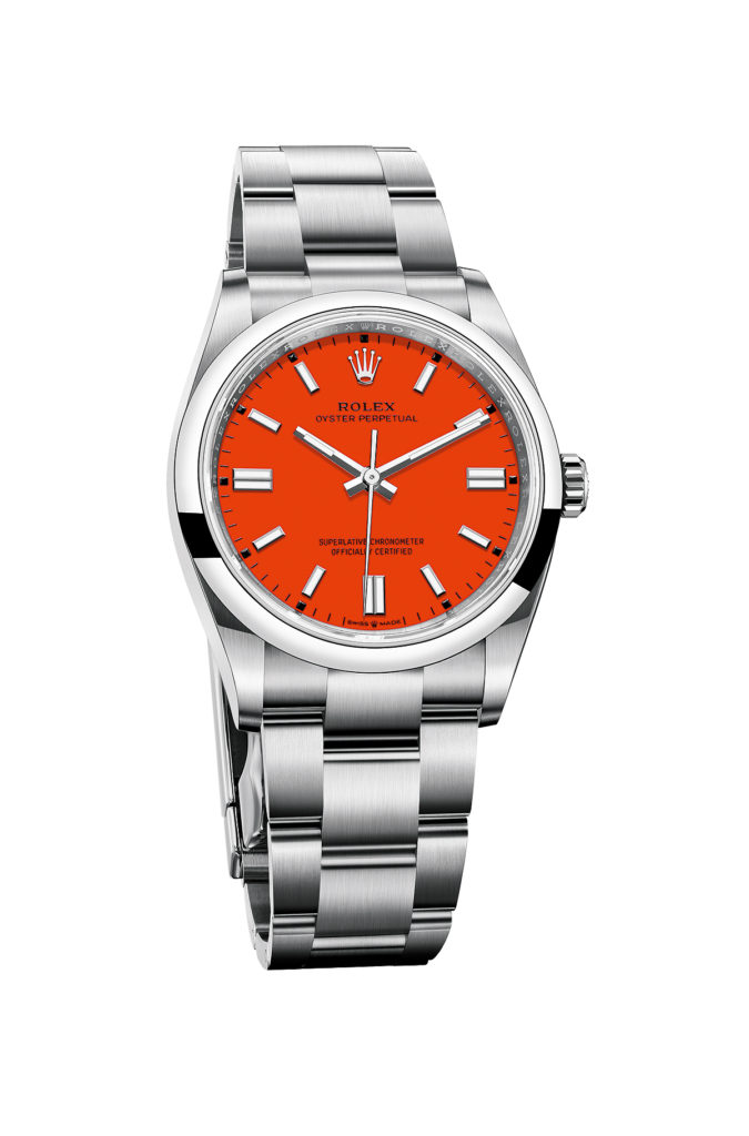 Rolex Oyster Perpetual Coral