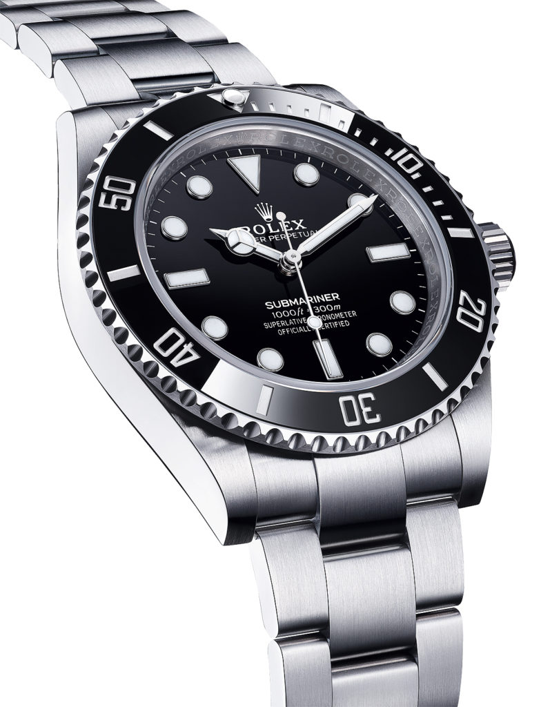 Rolex Oyster Perpetual Submariner - angle