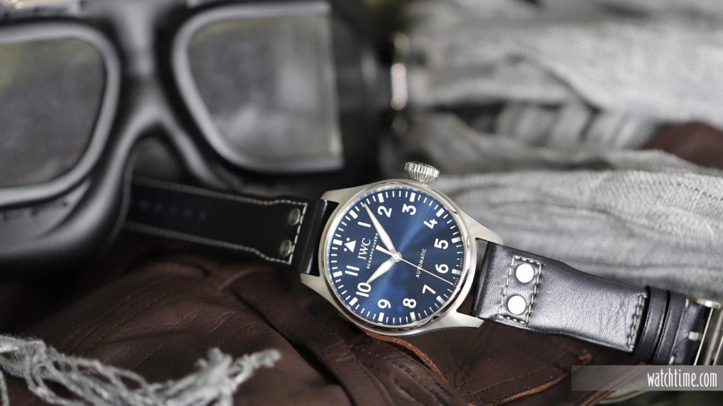 IWC Big Pilot'S Watch 43 - Blue Dial