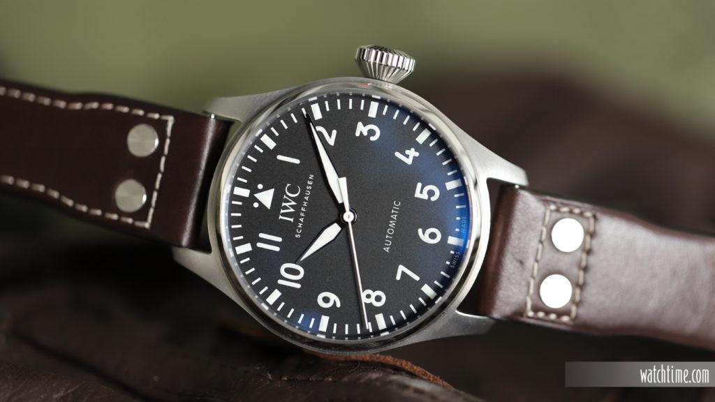 IWC Big Pilot'S Watch 43 - Black Dial