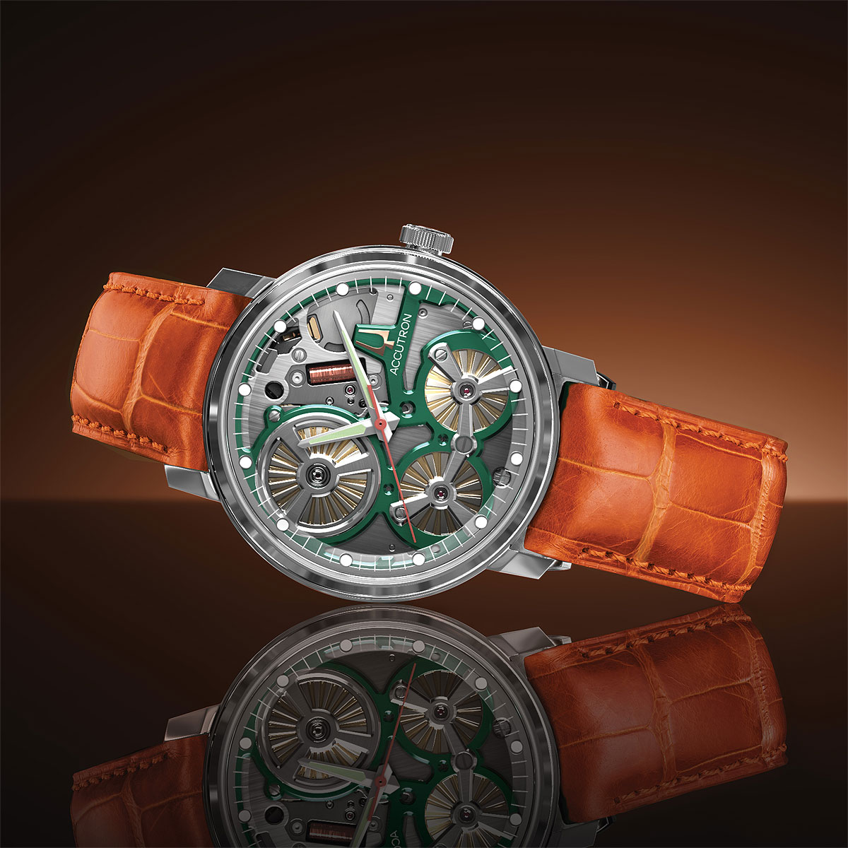 Accutron Adds Color in Expansion of its Spaceview 2020 Collection