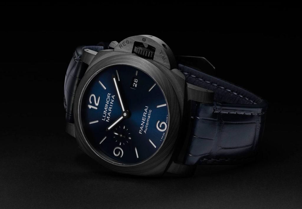 Blue Swimming in Black: Introducing the Panerai Luminor Marina Carbotech Blu Notte